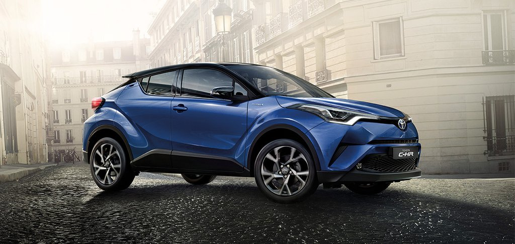 Nuovo Toyota C-HR- Promo